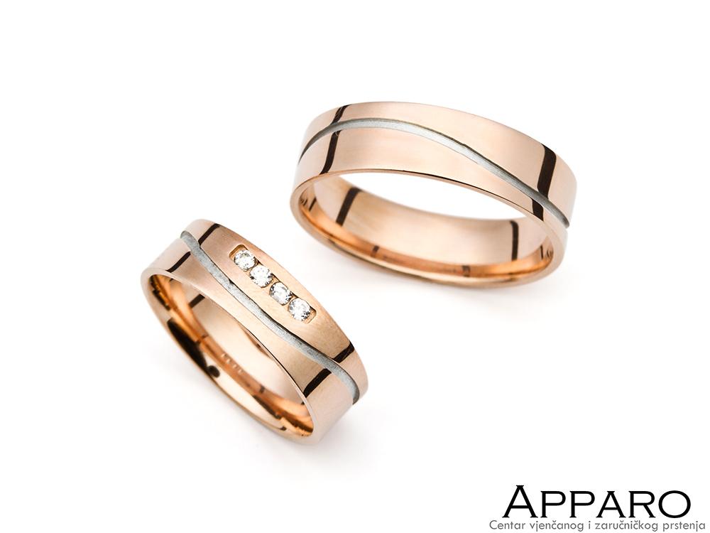 Vjenčani prsten V6218