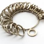 mjerač za prstenje