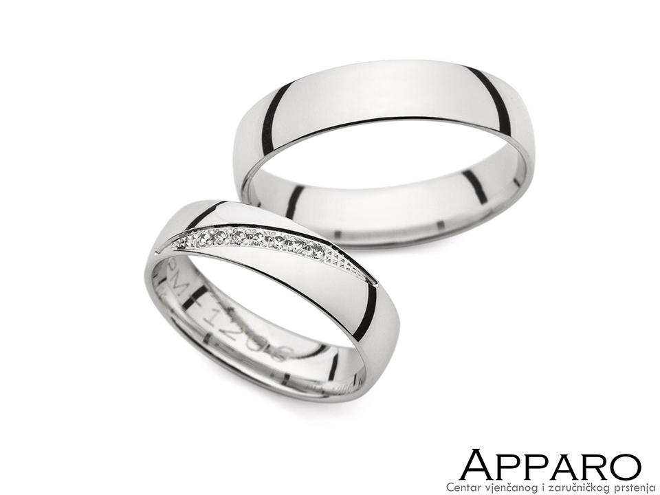 Vjenčani prsten V1206
