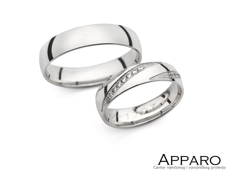 Vjenčani prsten V1227