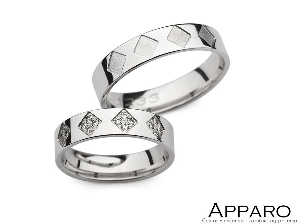 Vjenčani prsten V1233
