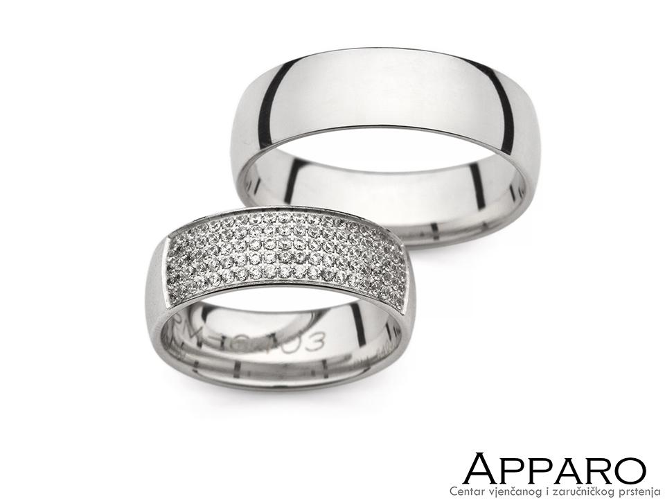 Vjenčani prsten V6403