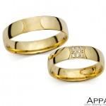 Vjenčani prsten V1337