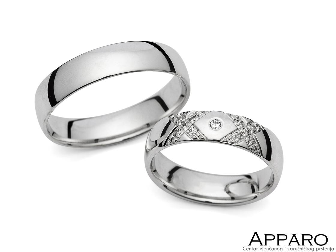 Vjenčani prsten V1358