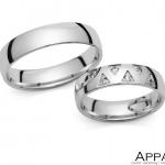 Vjenčani prsten V1364